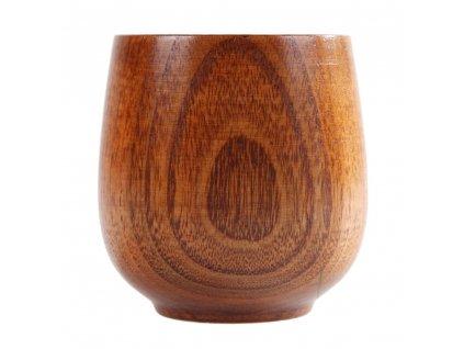 Dřevěný kalíšek na čaj
