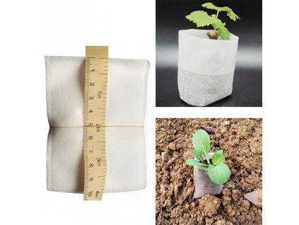 Rozložitelné BIO sáčky výsadbové, 10 ks