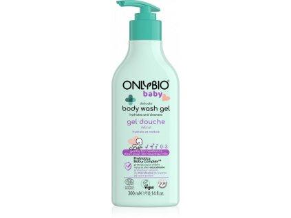 OnlyBio Jemný mycí gel pro miminka 300 ml