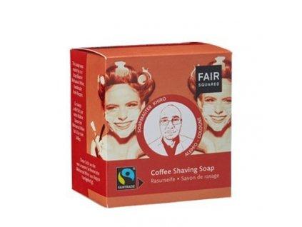Fair Squared Fair Squared Tuhé kávové mýdlo na holení (2 x 80 g)