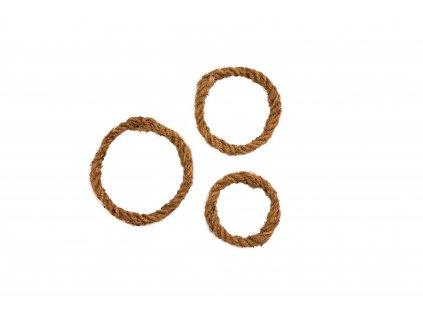 Kokosové lano - kroužek