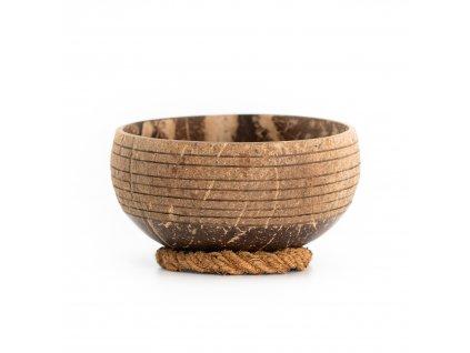 Kokosová miska Rollo se stabilizačním kroužkem