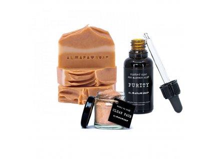 Kosmetický balíček Almara Soap pro mastnou pleť