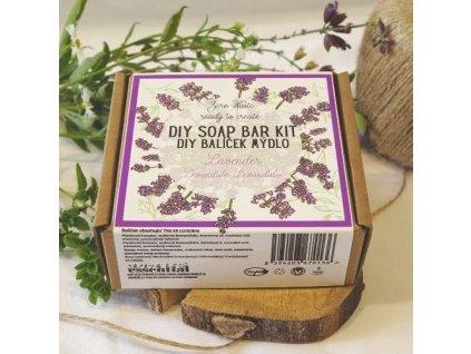 DIY set Essential: Levandulové mýdlo s mořskou solí
