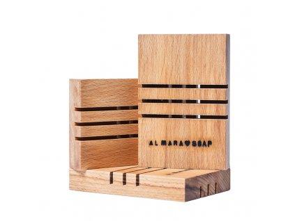 Dřevěná mýdlenka č.1