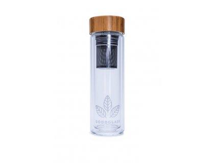 Skleněná termolahev | GoodGlass Thermo 450 ml