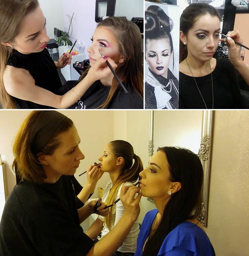Fotografie z kurzu photo makeup
