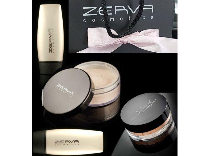 zerva darcekove balenie base makeup powder