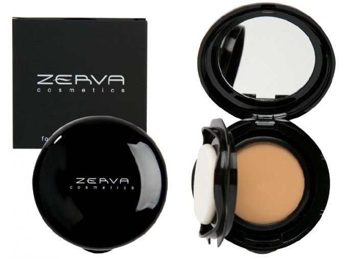 Make-up s tekutým púdrom foundation perfection