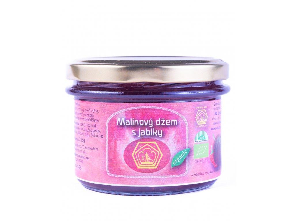 malinový džem s jablky