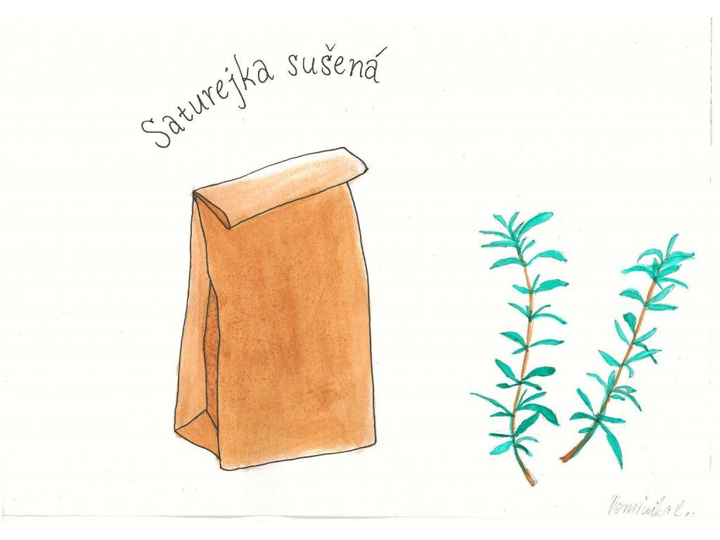 Saturejka sušená