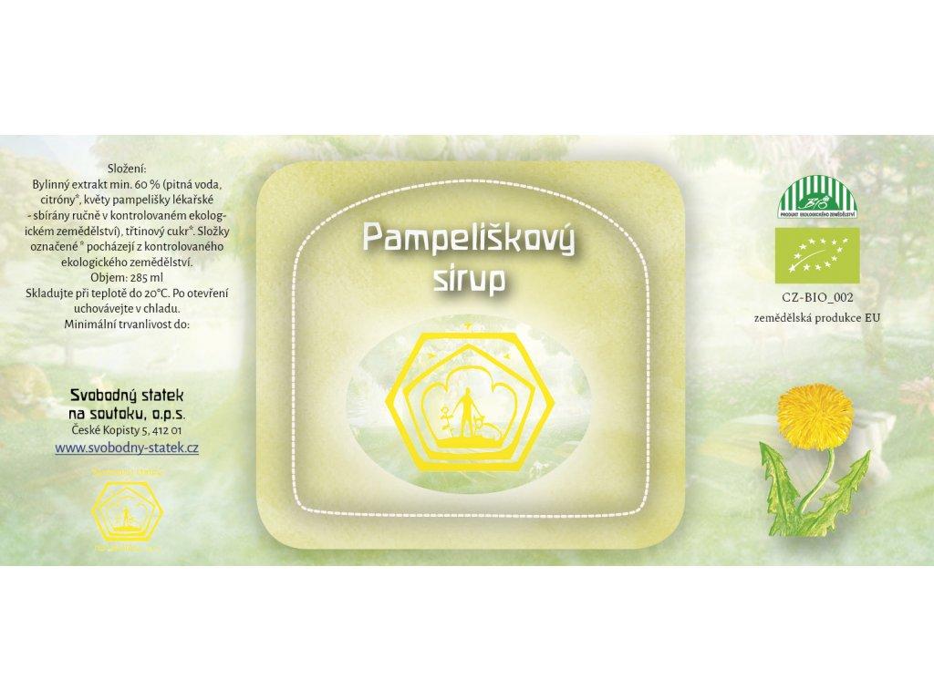 Sirup pampeliškový (med)