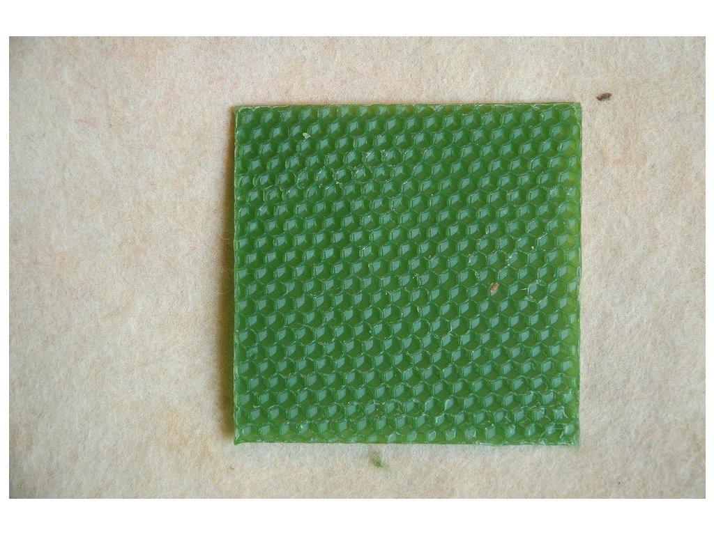 Barevná plástev zelená