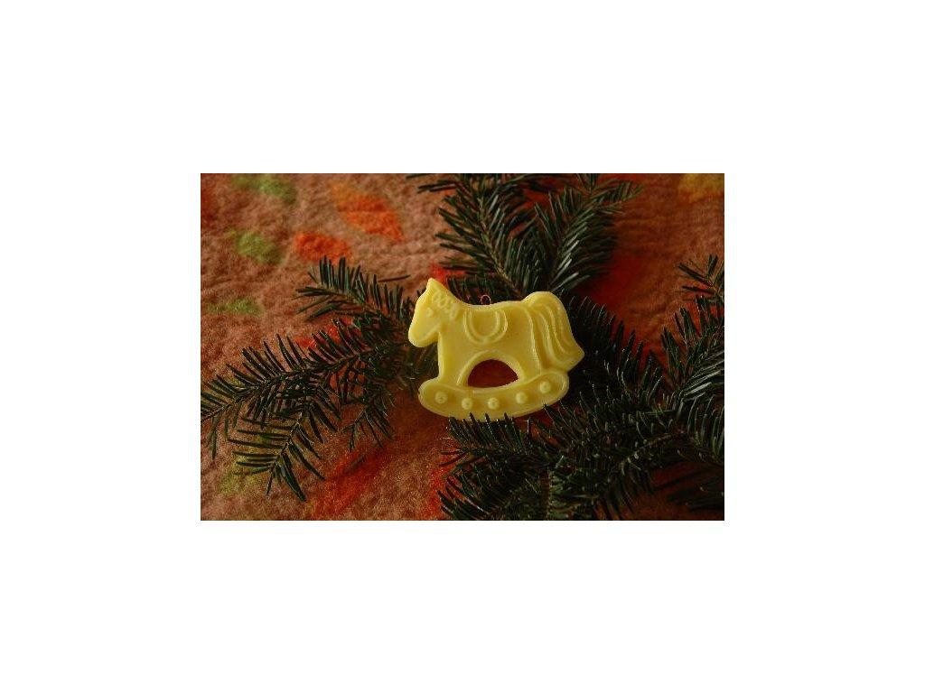 Vánoční ozdoba koník