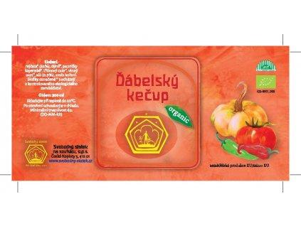 Kečup rajčatovo-dýňový ostrý