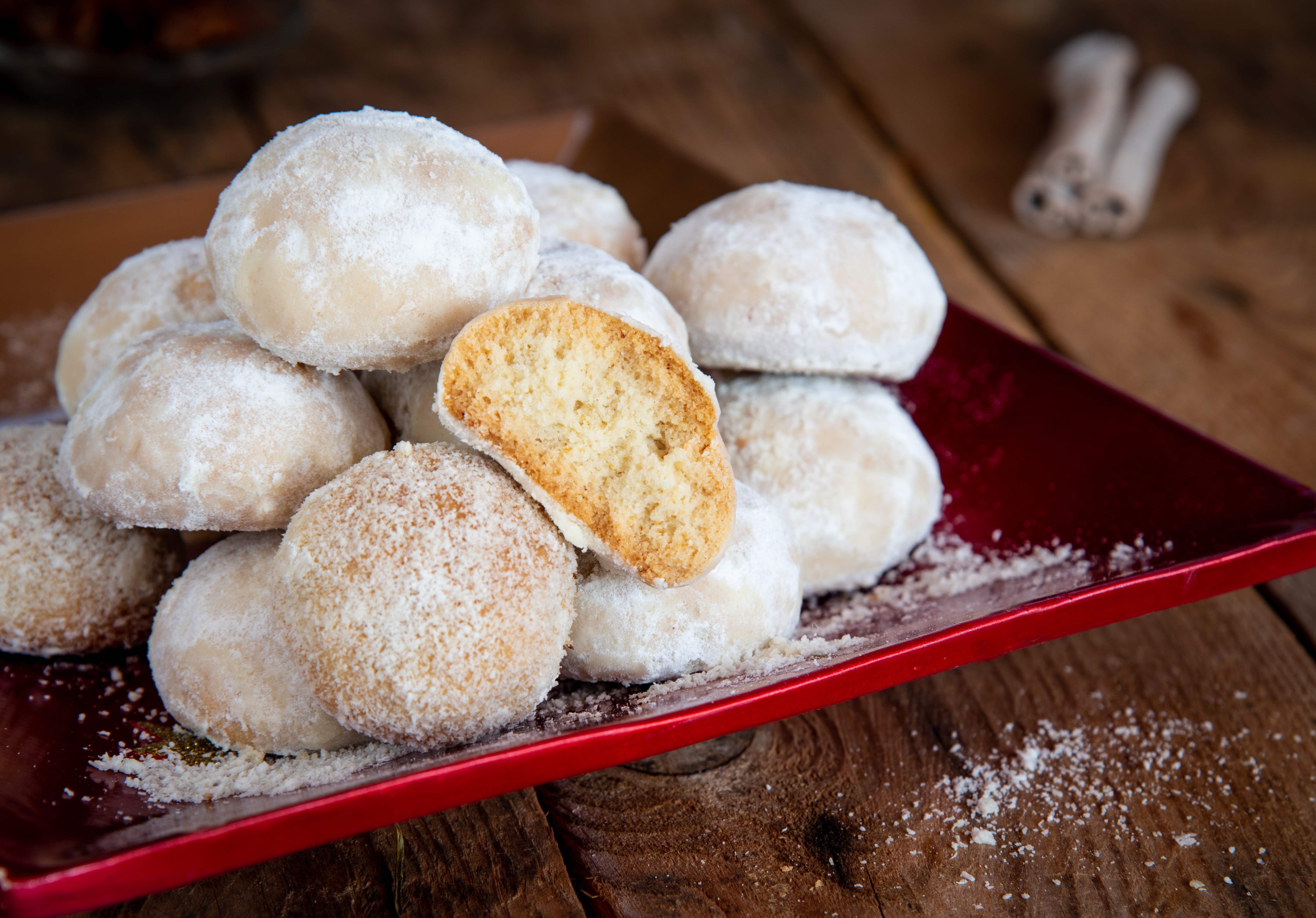 Recept na řecké cukroví kourabiedes
