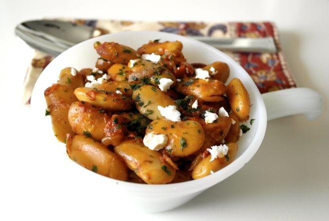 Podzimní řecký recept: Gigantes Plaki
