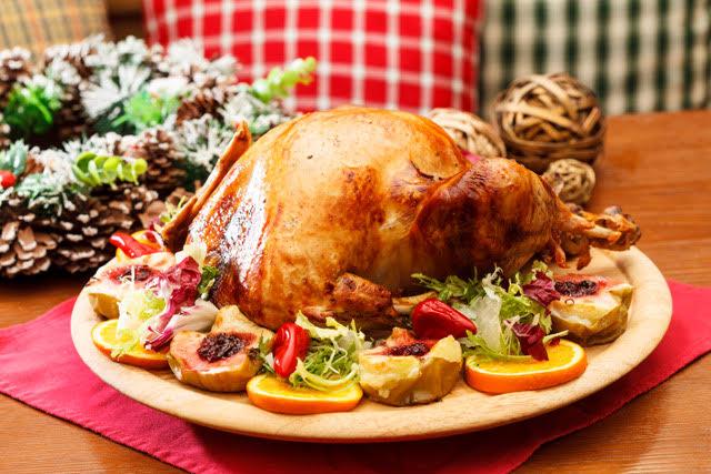 Řecký vánoční krocan s nádivkou