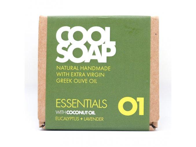 Olivové mýdlo - Eukalyptus & levandule