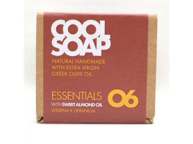 Olivové mýdlo - Verbena & geranium
