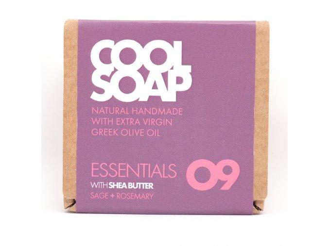 Olivové mýdlo - Šalvěj a & rozmarýn