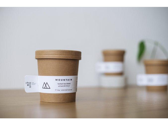 organic herbal tea packaging mountain craft ecofriendly rhoeco