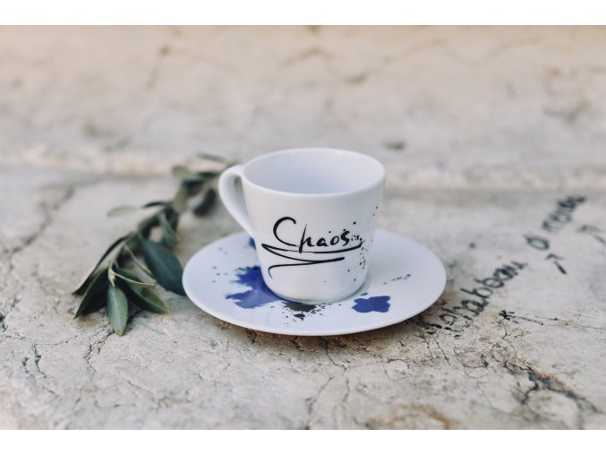 """Šálek na espresso """"Chaos"""""""