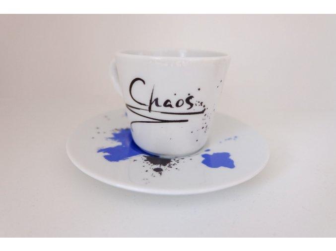 "Hrnek na espresso ""Chaos"""