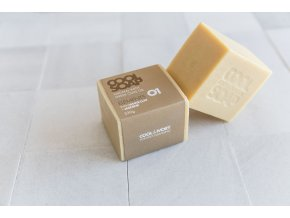1534671016 2 Olive oil soap bar 230 gr with jasmine and white clay 3