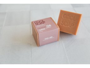 1534668753 2 Olive oil soap bar 230 gr with geranium and red clay 3