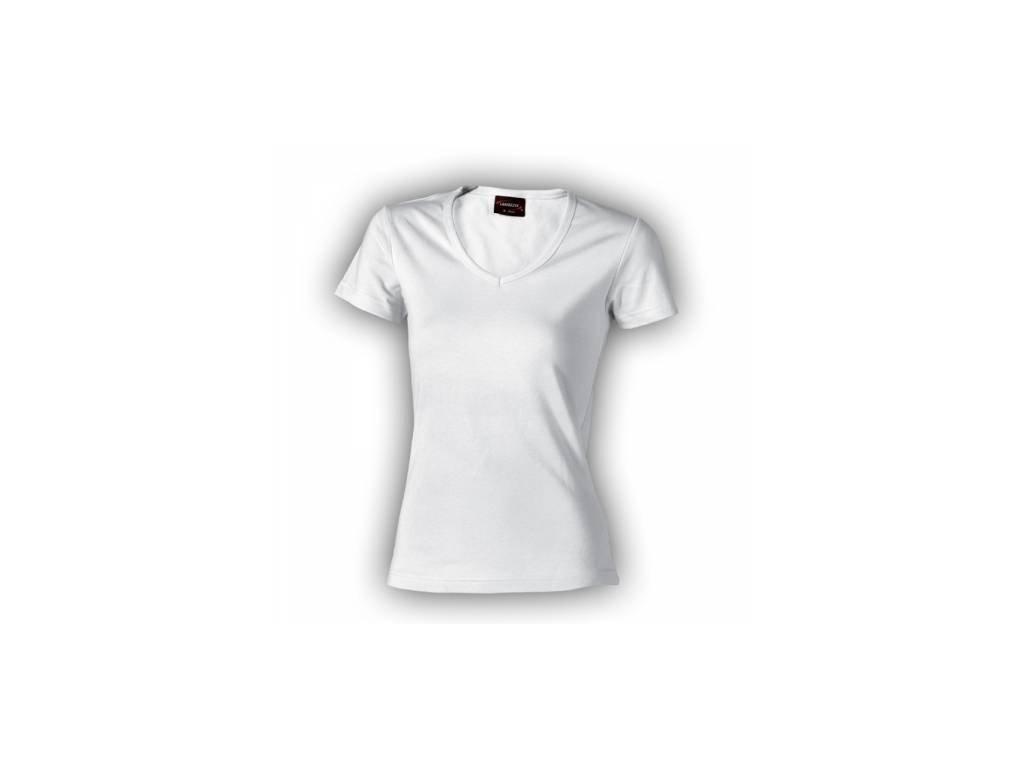 triko dámské, do V u krku 100%bavlna zn. Lambeste