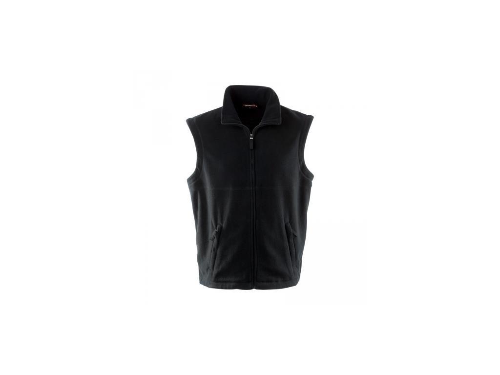 pánská vesta flecce černá