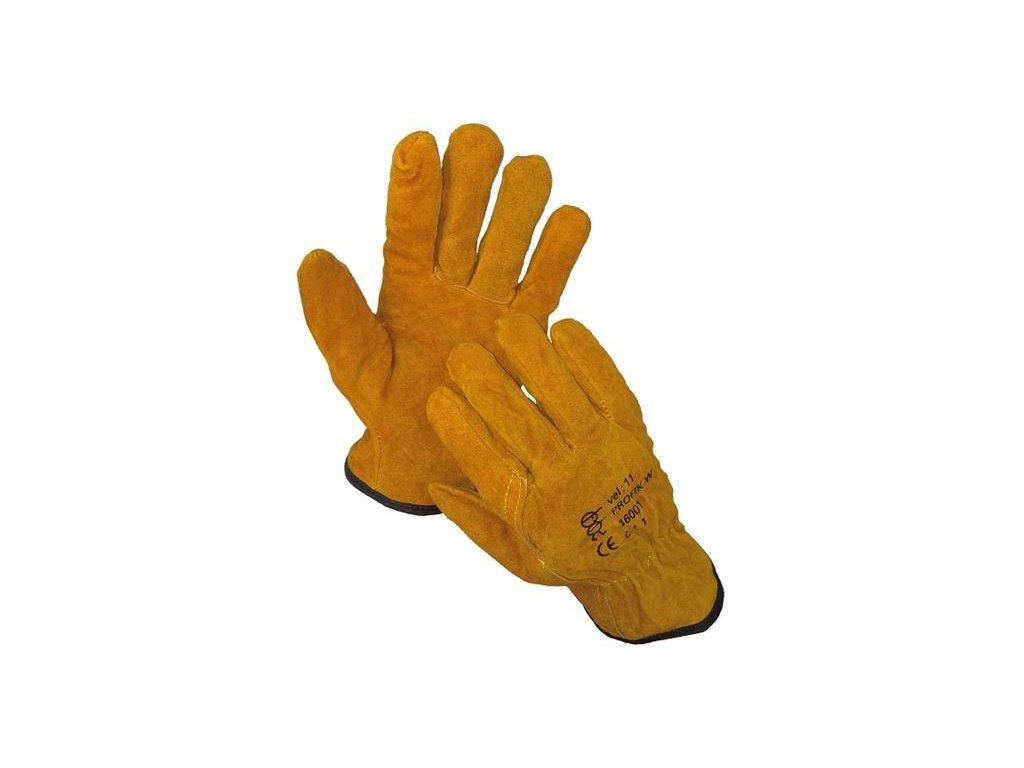 PROFIK WINTER zimní celokožené rukavice