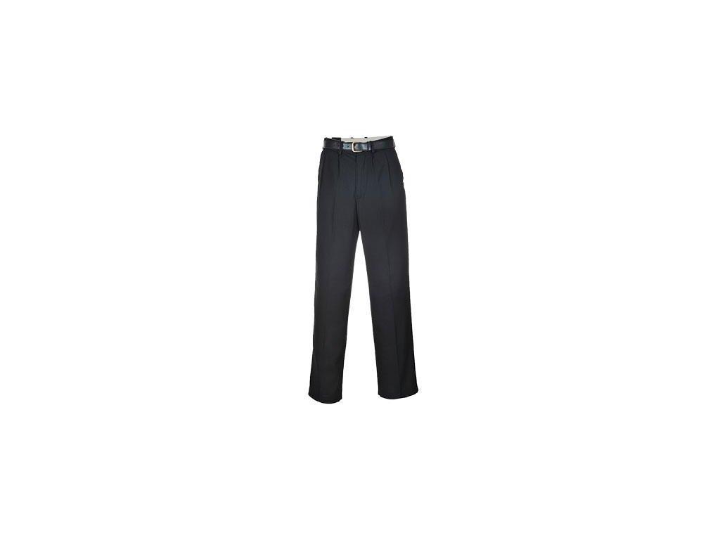 kalhoty společenské černé S710