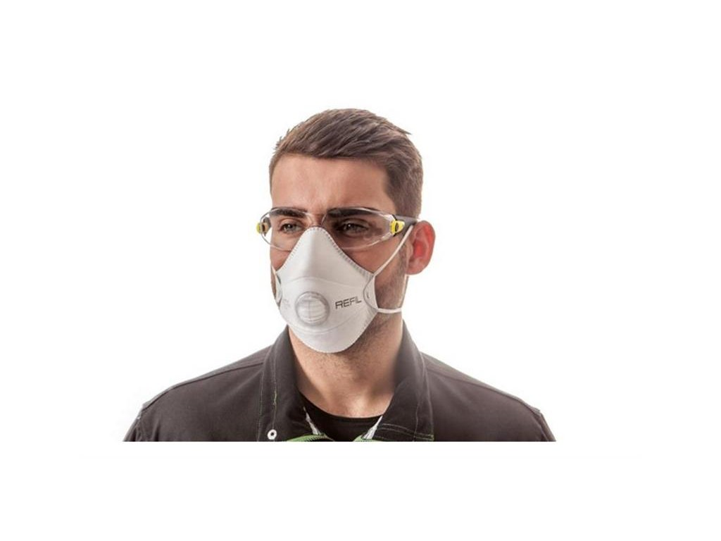 REFIL 1011 respirátor s ventilkem FFP1 NR D