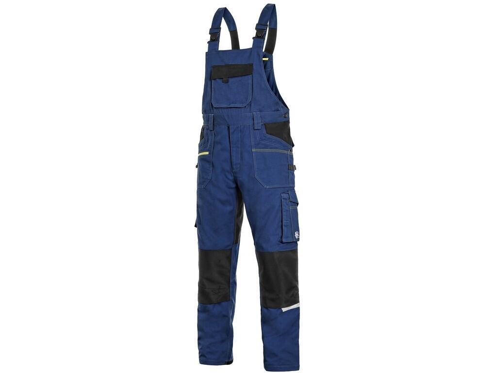Kalhoty laclové CXS STRETCH, pánské, šedo/černé