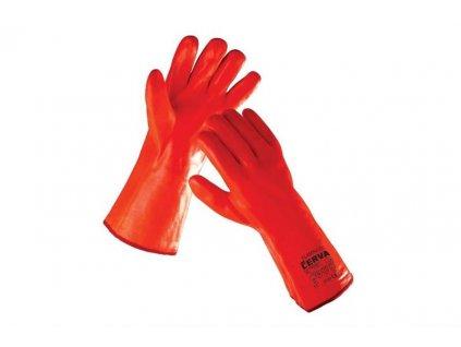 FLAMINGO zimní rukavice máčené v PVC