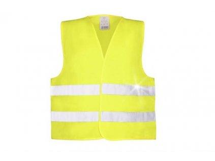 ALEX výstražná vesta žlutá