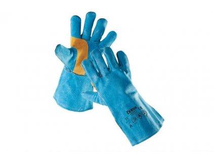 HARPY celokožené svářečské rukavice