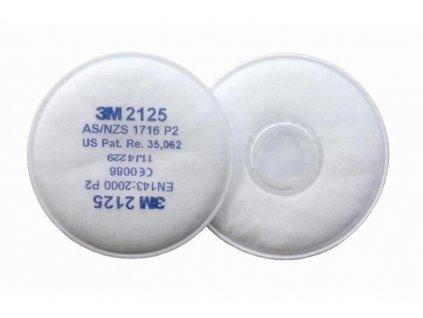 3M 2125 P2 částicový filtr
