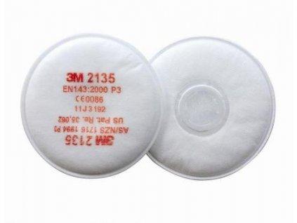 3M 2135 P3 částicový filtr