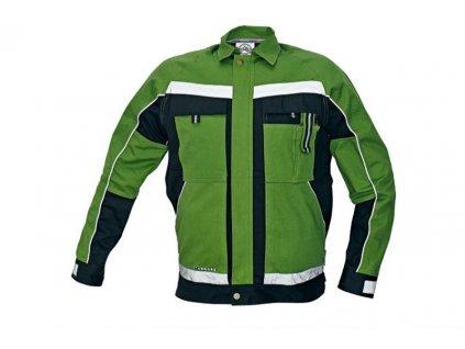 CERVA Stanmore montérková blůza zelená