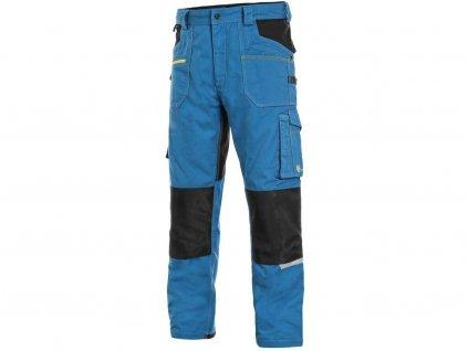 Kalhoty CXS STRETCH, pánské, šedo/černé