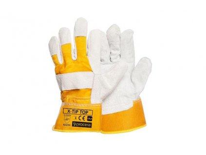 Tip Top zateplené kombinované pracovní rukavice