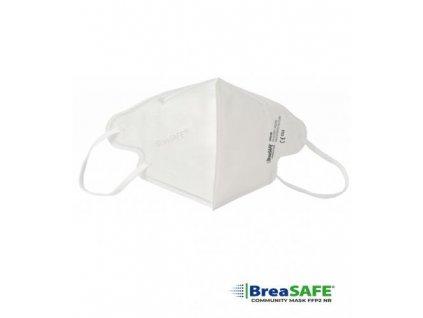 BreaSAFE®  COMMUNITY MASK FFP2 96K Filtrační polomaska unisex