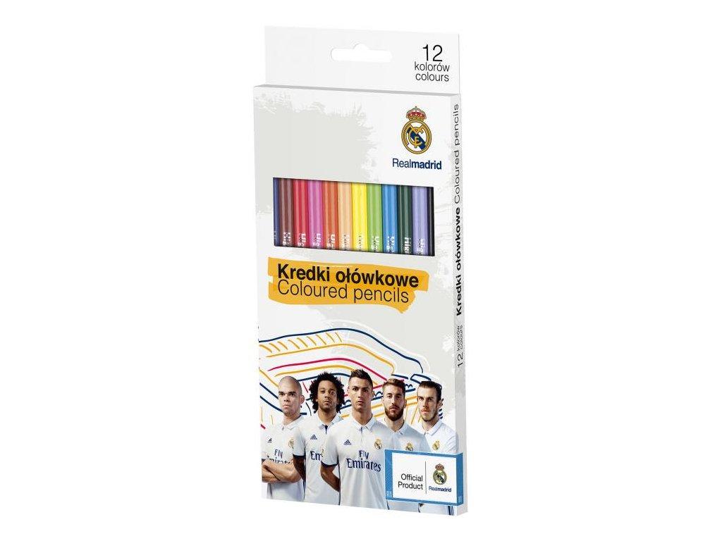 10053 astra pastelky real madrid 12 barev