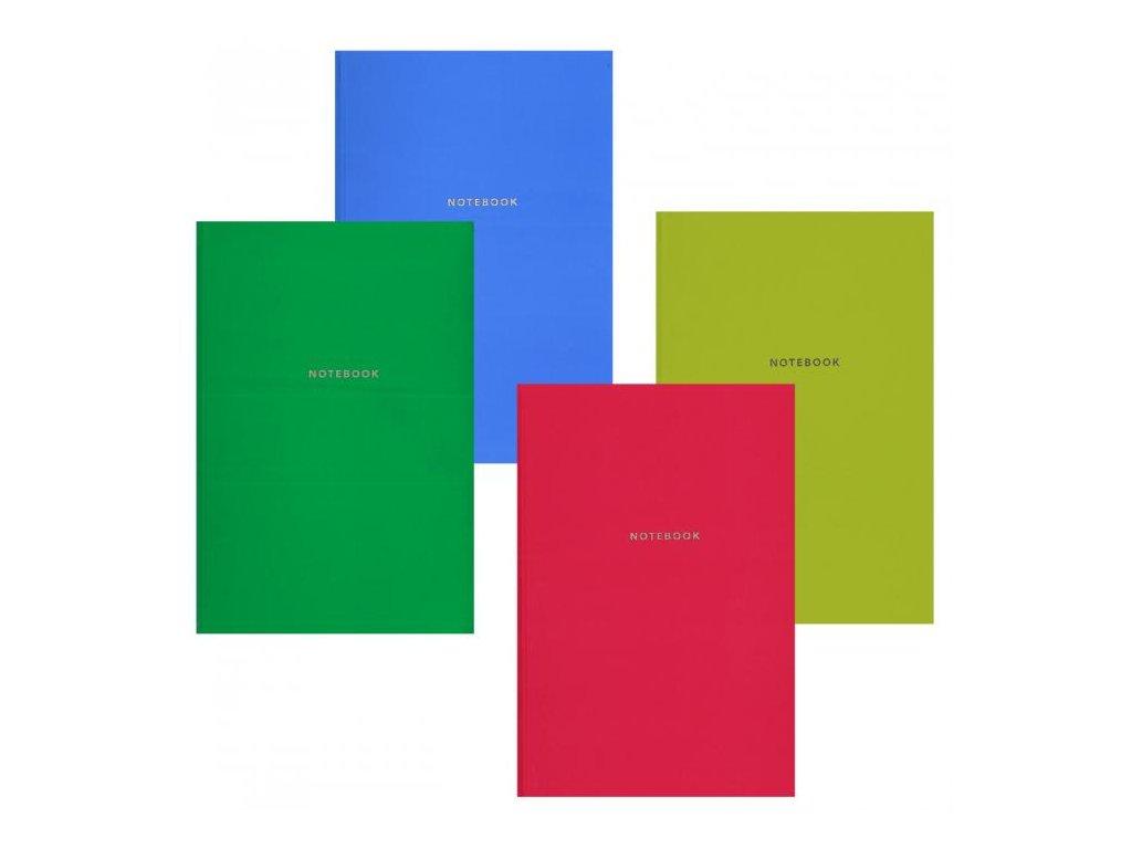 10071 zaznamni kniha a4 80l link notebook