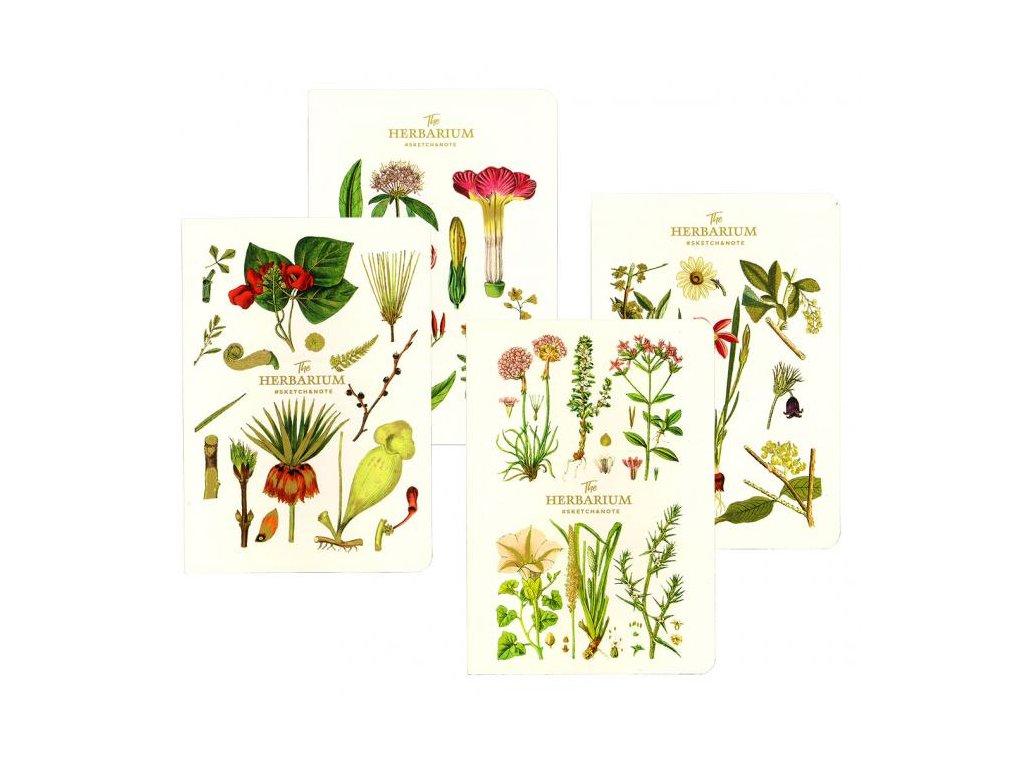 10398 skicovaci notes a5 64l the herbarium