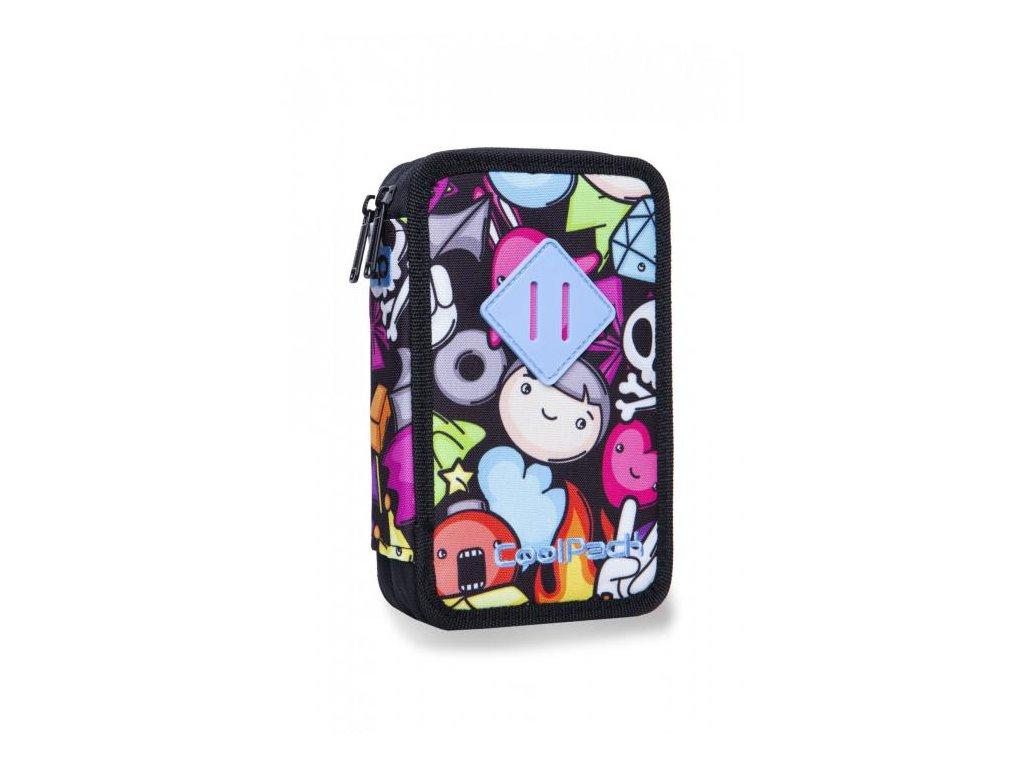 10941 skolni penal coolpack jumper 2 doodle