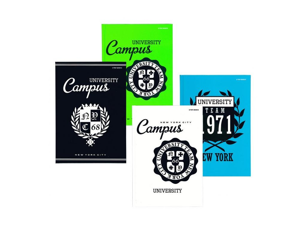 11028 zaznamni kniha university b5 160l ctver